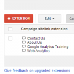 Google AdWords Extensions: Make Your Adverts Count