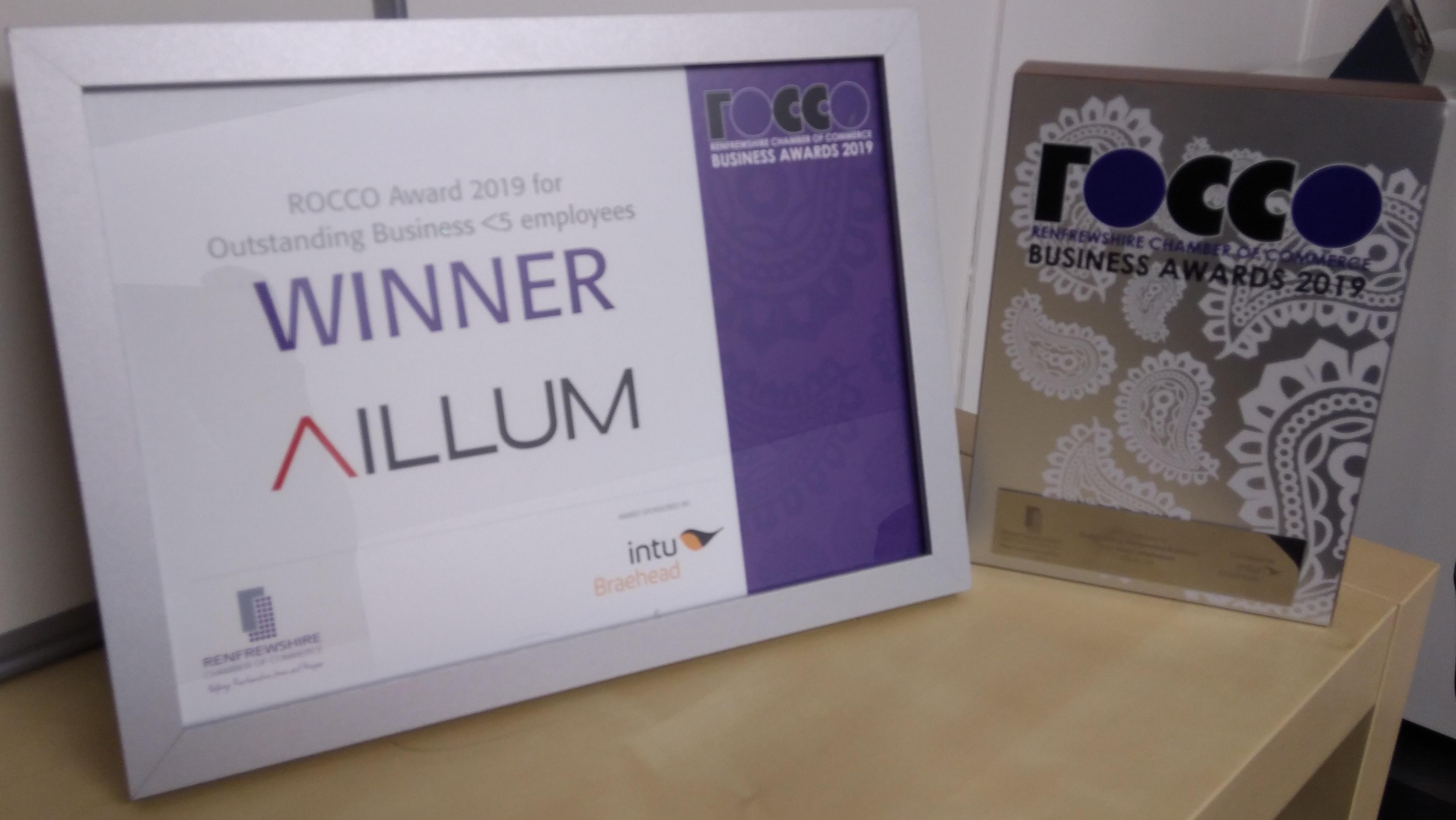 Rocco Award Aillum
