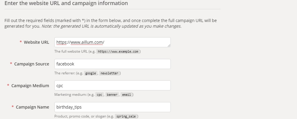 Campaign Builder Tool