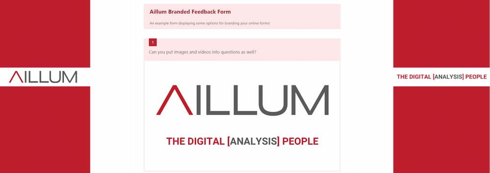 Aillum Branded Form